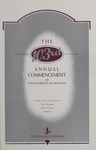 University of Montana Commencement Program, 2000 by University of Montana--Missoula. Office of the Registrar