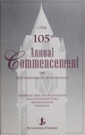 University of Montana Commencement Program, 2002