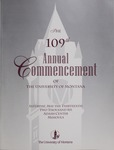 University of Montana Commencement Program, 2006 by University of Montana--Missoula. Office of the Registrar