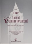 University of Montana Commencement Program, 2007 by University of Montana--Missoula. Office of the Registrar