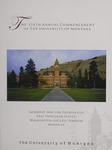 University of Montana Commencement Program, 2011