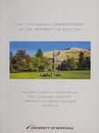 University of Montana Commencement Program, 2014 by University of Montana--Missoula. Office of the Registrar