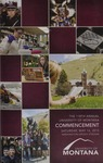 University of Montana Commencement Program, 2015 by University of Montana--Missoula. Office of the Registrar
