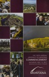 University of Montana Commencement Program, 2017 by University of Montana--Missoula. Office of the Registrar
