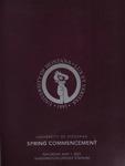 University of Montana Commencement Program, Spring 2021