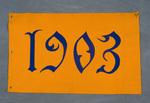University of Montana-Missoula Commencement Banner, 1903