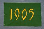 University of Montana-Missoula Commencement Banner, 1905