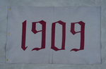 University of Montana-Missoula Commencement Banner, 1909