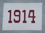 University of Montana-Missoula Commencement Banner, 1914