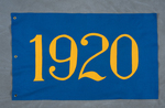 University of Montana-Missoula Commencement Banner, 1920 by University of Montana--Missoula
