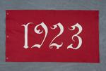 University of Montana-Missoula Commencement Banner, 1923