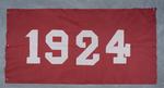 University of Montana-Missoula Commencement Banner, 1924