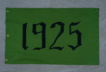 University of Montana-Missoula Commencement Banner, 1925 by University of Montana--Missoula