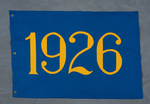 University of Montana-Missoula Commencement Banner, 1926 by University of Montana--Missoula