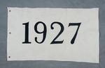 University of Montana-Missoula Commencement Banner, 1927