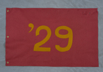 University of Montana-Missoula Commencement Banner, 1929