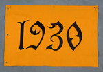 University of Montana-Missoula Commencement Banner, 1930 by University of Montana--Missoula