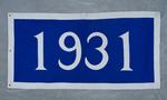 University of Montana-Missoula Commencement Banner, 1931