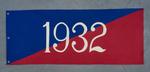 University of Montana-Missoula Commencement Banner, 1932
