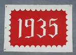 University of Montana-Missoula Commencement Banner, 1935 by University of Montana--Missoula