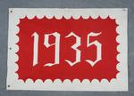 University of Montana-Missoula Commencement Banner, 1935
