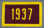 University of Montana-Missoula Commencement Banner, 1937 by University of Montana--Missoula