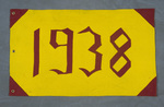 University of Montana-Missoula Commencement Banner, 1938 by University of Montana--Missoula