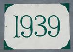 University of Montana-Missoula Commencement Banner, 1939