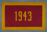 University of Montana-Missoula Commencement Banner, 1943 by University of Montana--Missoula