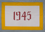 University of Montana-Missoula Commencement Banner, 1945 by University of Montana--Missoula