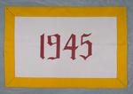 University of Montana-Missoula Commencement Banner, 1945