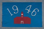 University of Montana-Missoula Commencement Banner, 1946 by University of Montana--Missoula