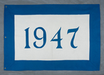 University of Montana-Missoula Commencement Banner, 1947