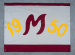 University of Montana-Missoula Commencement Banner, 1950 by University of Montana--Missoula