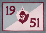 University of Montana-Missoula Commencement Banner, 1951 by University of Montana--Missoula