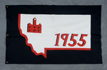 University of Montana-Missoula Commencement Banner, 1955 by University of Montana--Missoula