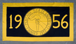 University of Montana-Missoula Commencement Banner, 1956 by University of Montana--Missoula