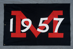 University of Montana-Missoula Commencement Banner, 1957