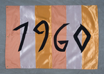 University of Montana-Missoula Commencement Banner, 1960