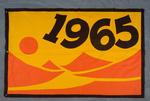 University of Montana-Missoula Commencement Banner, 1965