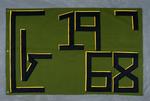 University of Montana-Missoula Commencement Banner, 1968