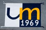 University of Montana-Missoula Commencement Banner, 1969