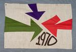 University of Montana-Missoula Commencement Banner, 1970