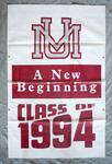 University of Montana-Missoula Commencement Banner, 1994