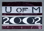 University of Montana-Missoula Commencement Banner, 2002