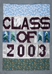 University of Montana-Missoula Commencement Banner, 2003 by University of Montana--Missoula