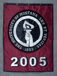 University of Montana-Missoula Commencement Banner, 2005 by University of Montana--Missoula