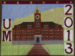 University of Montana-Missoula Commencement Banner, 2013 by University of Montana--Missoula