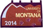 University of Montana-Missoula Commencement Banner, 2014