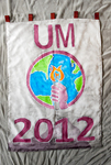 University of Montana-Missoula Commencement Banner, 2012 by University of Montana--Missoula
